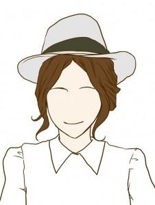 帽子アレンジ6