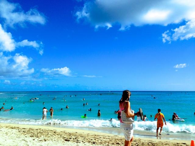 関西の海水浴場!夏といえば海!