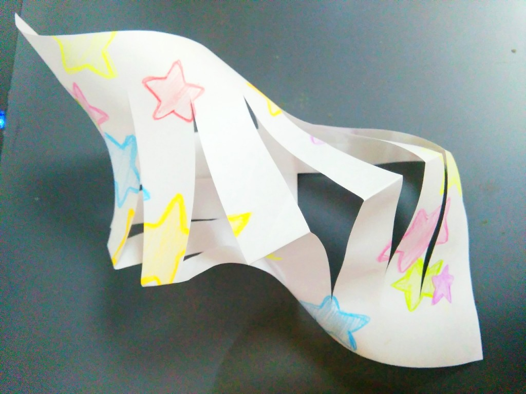 七夕の飾りを折り紙で作ろう!簡単貝かざりの作り方
