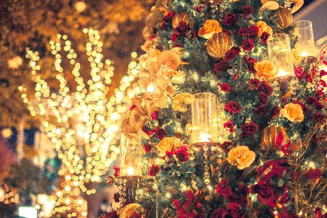 クリスマスのイルミネーション大阪ミナミ☆